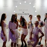 Japanese girls at Sensation Tokyo 2015 in Chiba, Tokyo, Japan