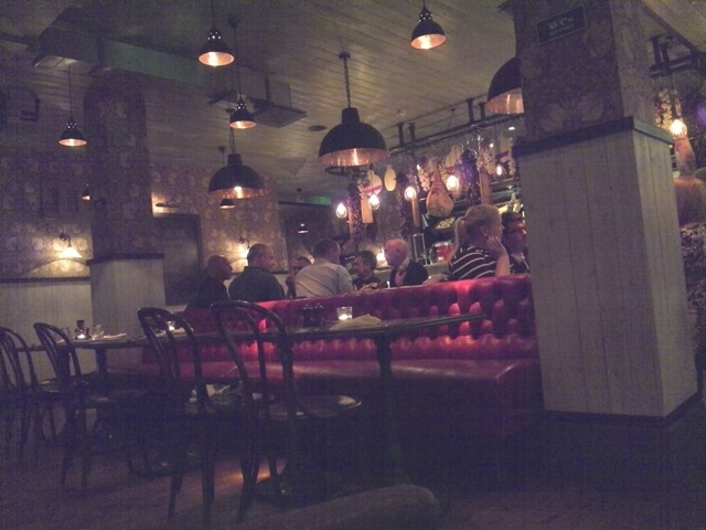 Review Jamie's Italian Norwich eating out in the city