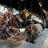 engines at Dutch National Military Museum Soesterberg in Soest, Utrecht, Netherlands