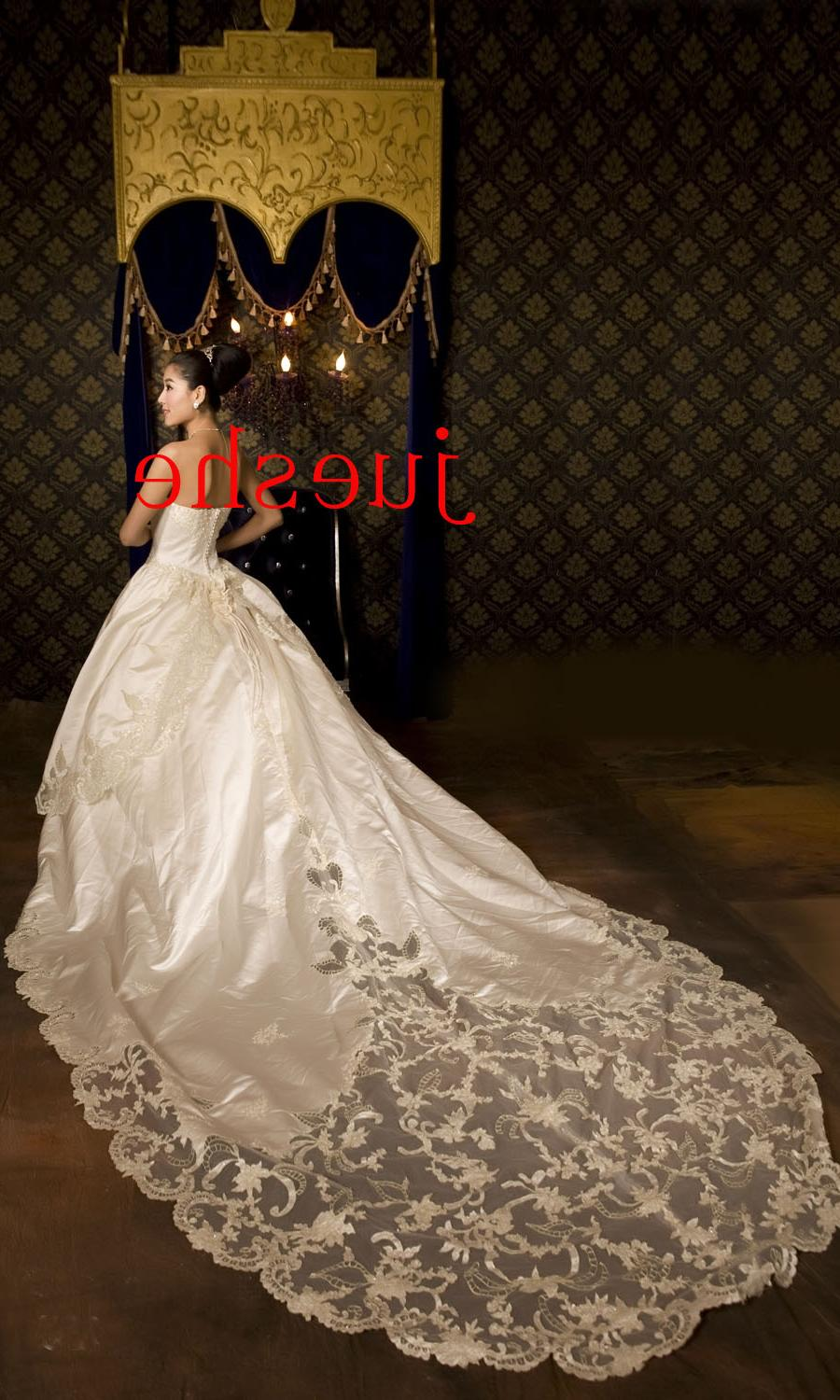 Long -Tail Wedding Dress  1401