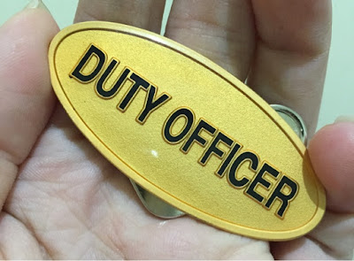 The Duty Officer Pin