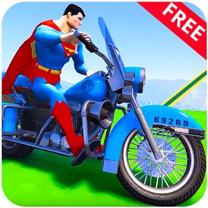 Superhero Police Bike Stunt: Free Kids Racing Game For PC / Windows 7/8/10 / Mac – Free Download