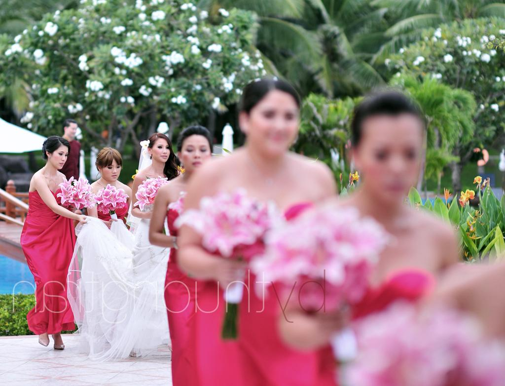 Destination wedding in Nha