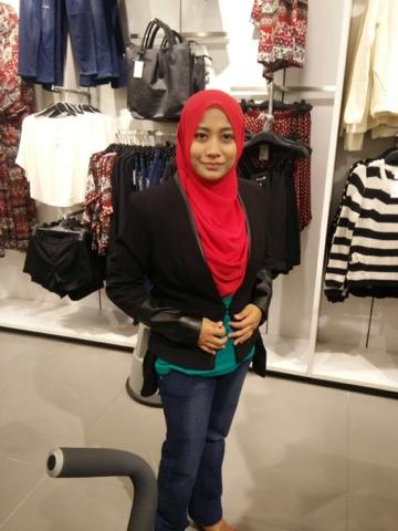 Blazer H&M Black Malaysia