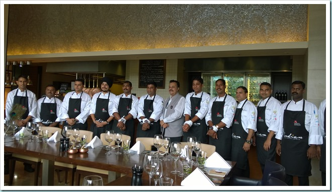 Visiting Marriott Chefs with Judge