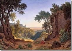 Rohden_-Johann-Martin-von.-Rom_-Tivoli.-1848