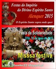 Fresta Solidariedade - Missa - 10.05.15