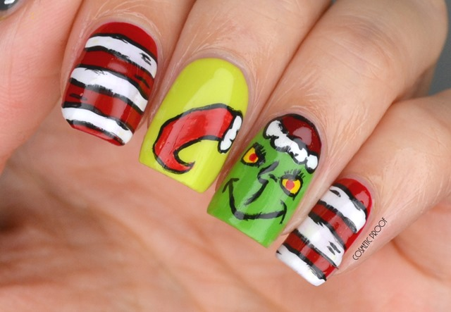 Christmas Grinch Nail Art Essence