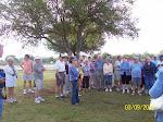 Patty Talking to Farm Tour Visitors