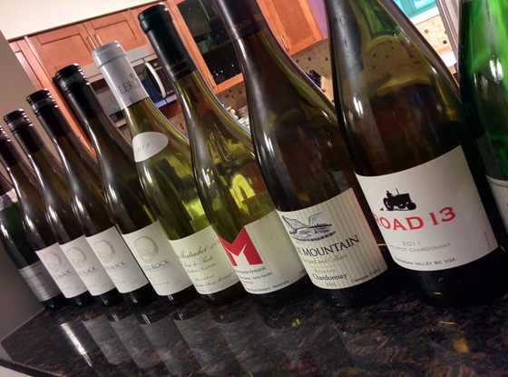 A productive and educational evening in Chardonnay appreciation