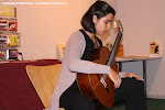 Ana Ferrer Fornés. Tribuna Rosa Gil Bosque de Jóvenes Guitarristas