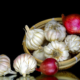 Garlic-onion by Asif Bora - Food & Drink Ingredients (  )
