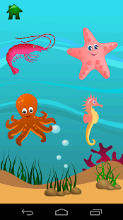 Marine animals - screenshot
