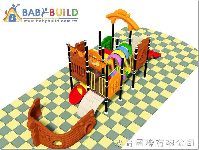 BabyBuild 海盜船主題遊具設計