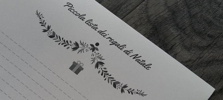 Lista regali natale free