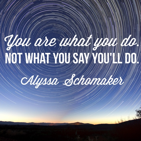 Alyssa Schomaker - need motivation to live your truth ?