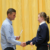 at the Mulroy College Junior Prize Giving.   Photo:- Clive Wasson