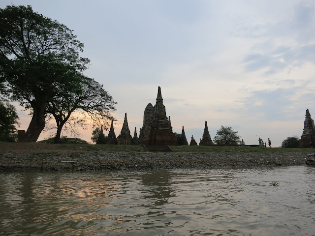 Built at the confluence of three rivers, Ayutthaya grew to be a huge and prosperous city.