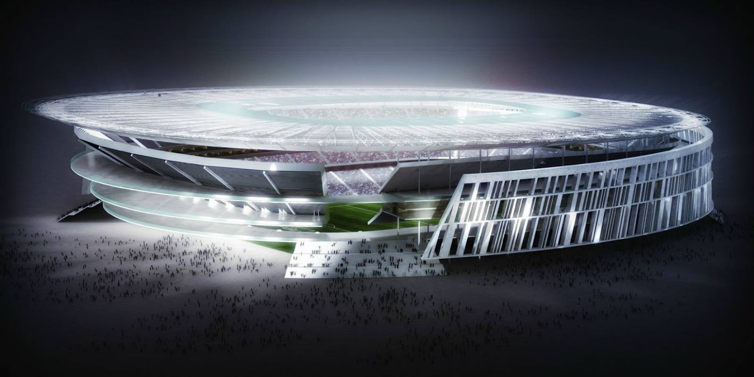 New Stadium in Rome by Woods Bagot