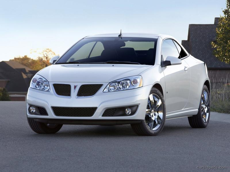 2008 Pontiac G6 Convertible Specifications Pictures Prices