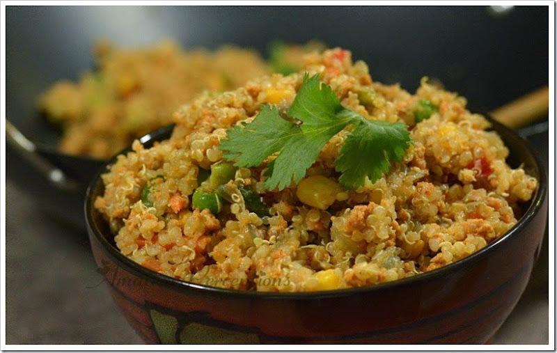 Quinoa Pulav 2