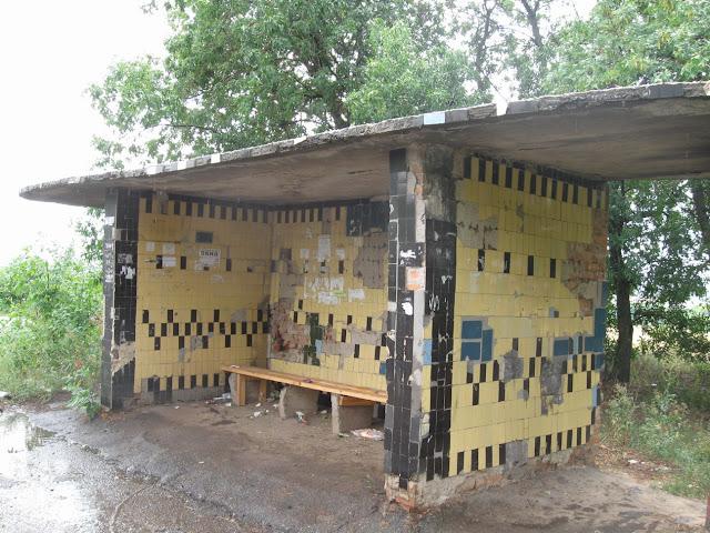 автобусная остановка маслии