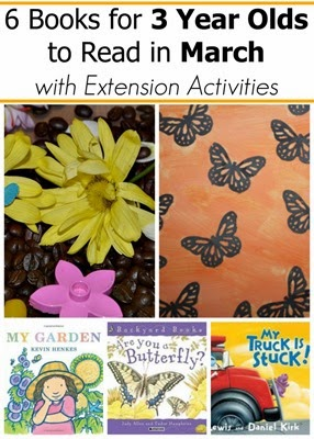 May book picks and extension reading activities for 2 and 3 year olds