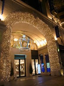 アニヴェルセル表参道のクリスマスイルミネーション2013