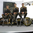 Launch Renault E20 with drivers