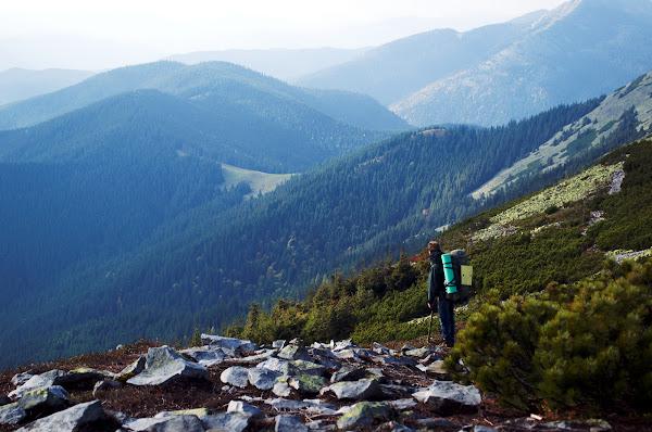 горганы карпаты горы поход