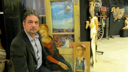 00 Viktor Lipkin i ego Ierusalimskaya madonna.jpg