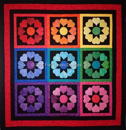 Rainbow Hearts CLS116