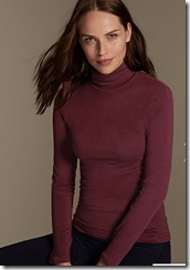 M&S Collection HeatGen Thermal roll neck top