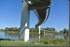 Pedestrian Bridge from Below