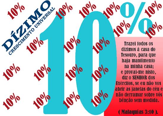 ENVELOPE DIZIMO 10% I