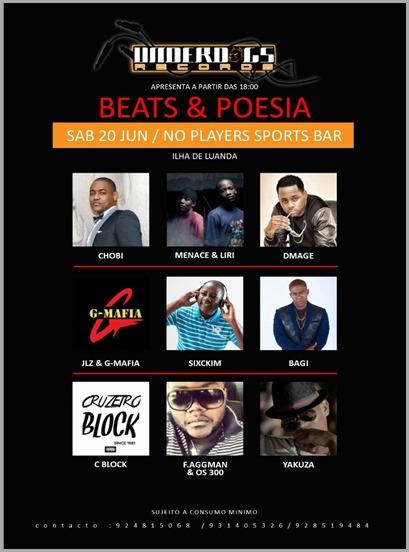 Show Beats E Poesia dia 20 de Junho (1)