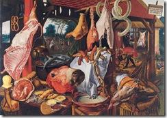 Food Still-life Peter Aertsen 1551