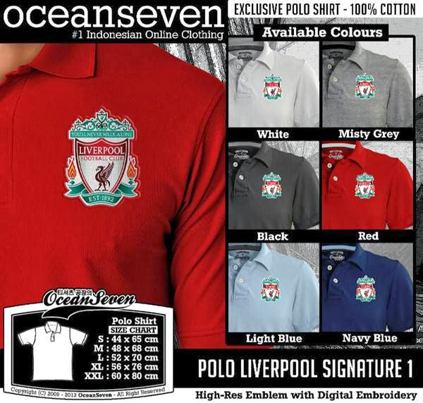 POLO Liverpool Signature distro ocean seven