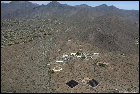 FirstSolar_TaliesinWest_AZ-aerial