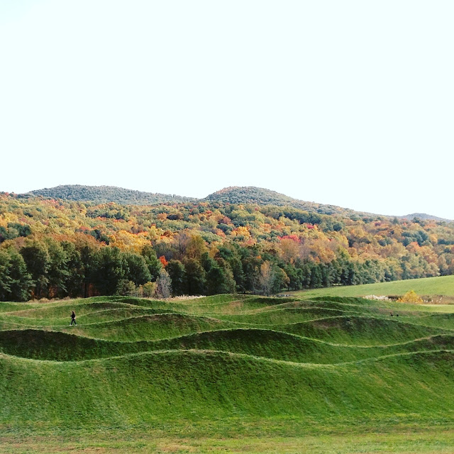 Maya Lin's Wave Field at Storm King Art Center