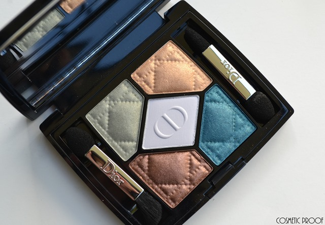 Dior Tie Dye Contraste Horizon 5 Couleurs Eyeshadow Palette Review (2)