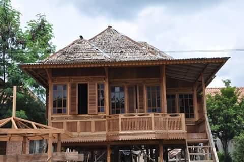 rumah gazebo murah jenis rumah kayu type 48