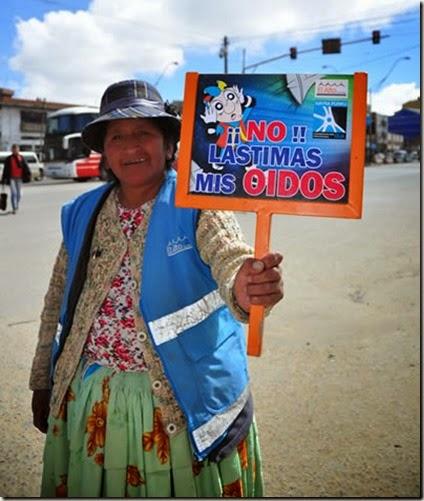 Contaminación acústica en El Alto
