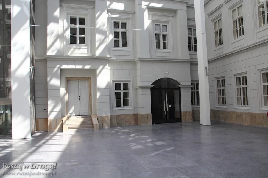 Bielsko-Biała - Dziedziniec zamku