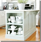 kitchen island makeover dg-sm