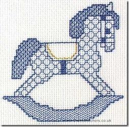 caballo balancin  punto de cruz  (4)