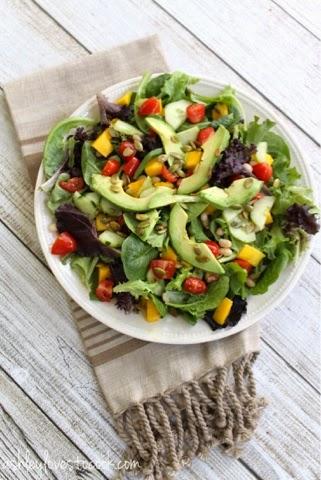 Spring Salad II || ashleylovestocook.com
