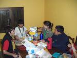 Cena en el Refugio de Altavista