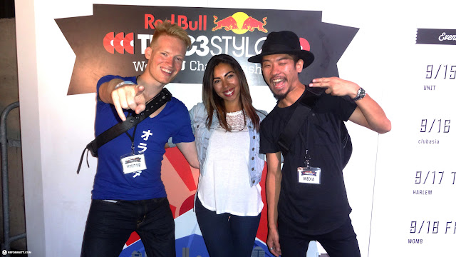the Toronto crew at Red Bull Thre3Style at Ageha in Tokyo in Tokyo, Tokyo, Japan