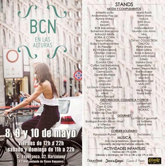 Flyer BCN en las alturas